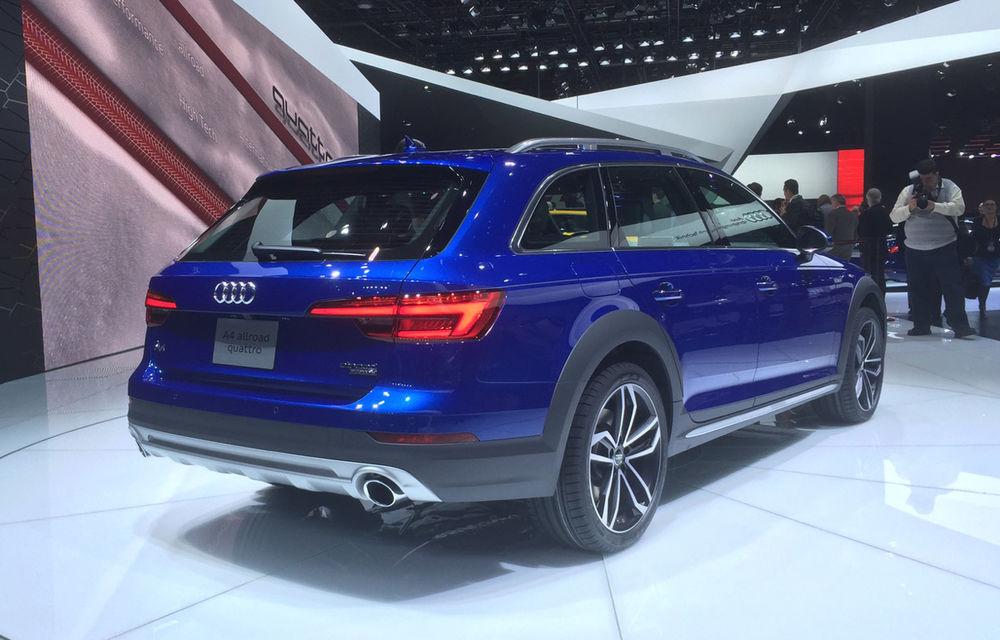 Live from Detroit. Surprize de la Audi: acesta este noul A4 Allroad - Poza 2
