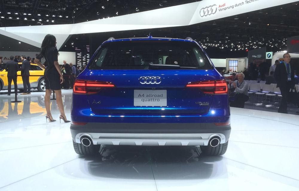 Live from Detroit. Surprize de la Audi: acesta este noul A4 Allroad - Poza 3
