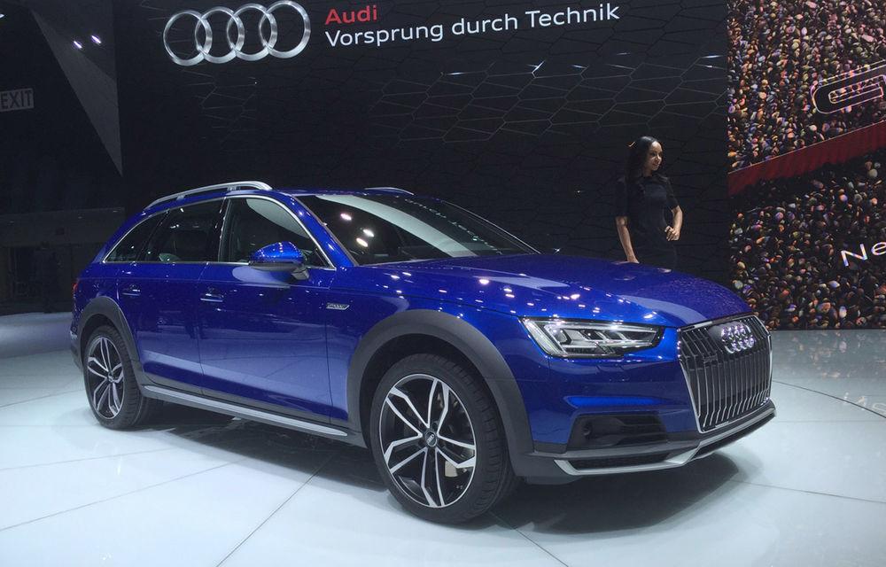 Live from Detroit. Surprize de la Audi: acesta este noul A4 Allroad - Poza 5