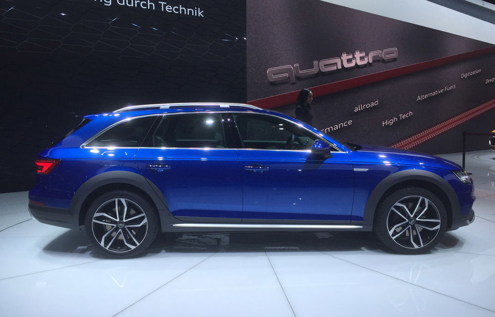 Live from Detroit. Surprize de la Audi: acesta este noul A4 Allroad - Poza 4