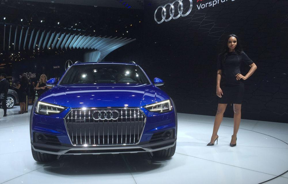 Live from Detroit. Surprize de la Audi: acesta este noul A4 Allroad - Poza 1