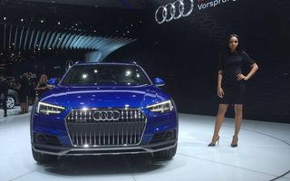 Live from Detroit. Surprize de la Audi: acesta este noul A4 Allroad