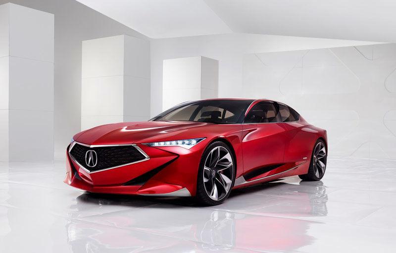 Se poartă designul tăios și futurist: Acura Precision Concept anunță valul schimbării estetice - Poza 1