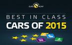 Topul celor mai sigure mașini lansate în 2015: cine a primit coroniță la testele EuroNCAP