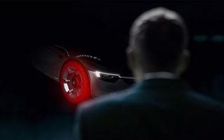 Puțin câte puțin: Opel GT Concept se dezvăluie treptat printr-o fotografie și un clip-teaser