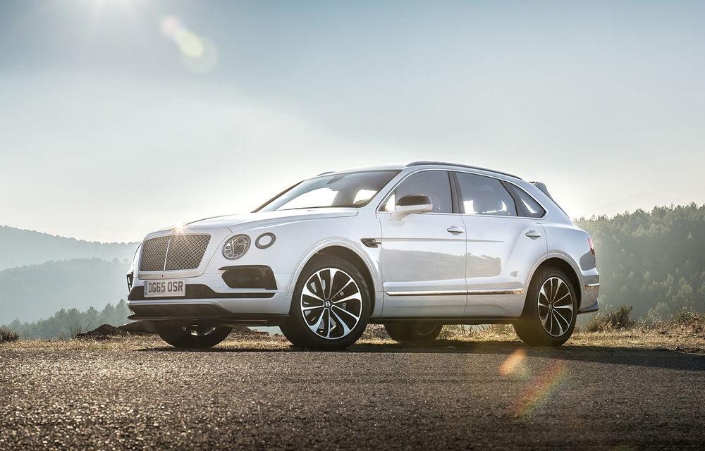Nouă români și-au comandat cel mai scump SUV din lume: Bentley Bentayga. Cota României pe 2016 e deja epuizată - Poza 1