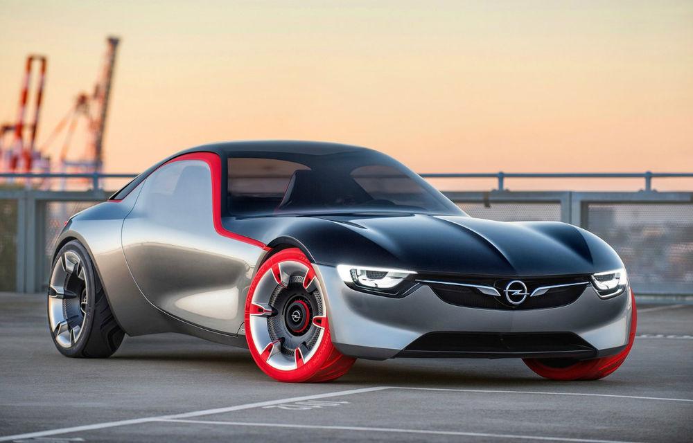 """Scoateți carnetele de notițe. Opel GT Concept ne explică """"cum vor arăta mașinile sport în viitor"""" - Poza 1"""
