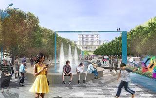 Schimbarea la faţă a Bucureştiului: zonă pietonală pe Bulevardul Unirii şi încă şase parcări subterane