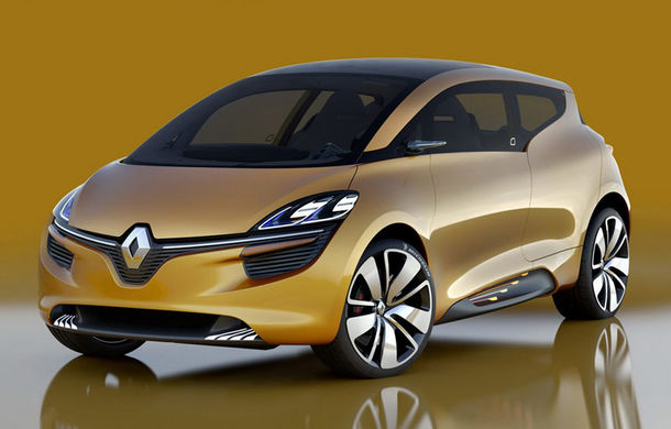 Renault continuă ofensiva: după Megane și Talisman, vine și Scenic - Poza 1