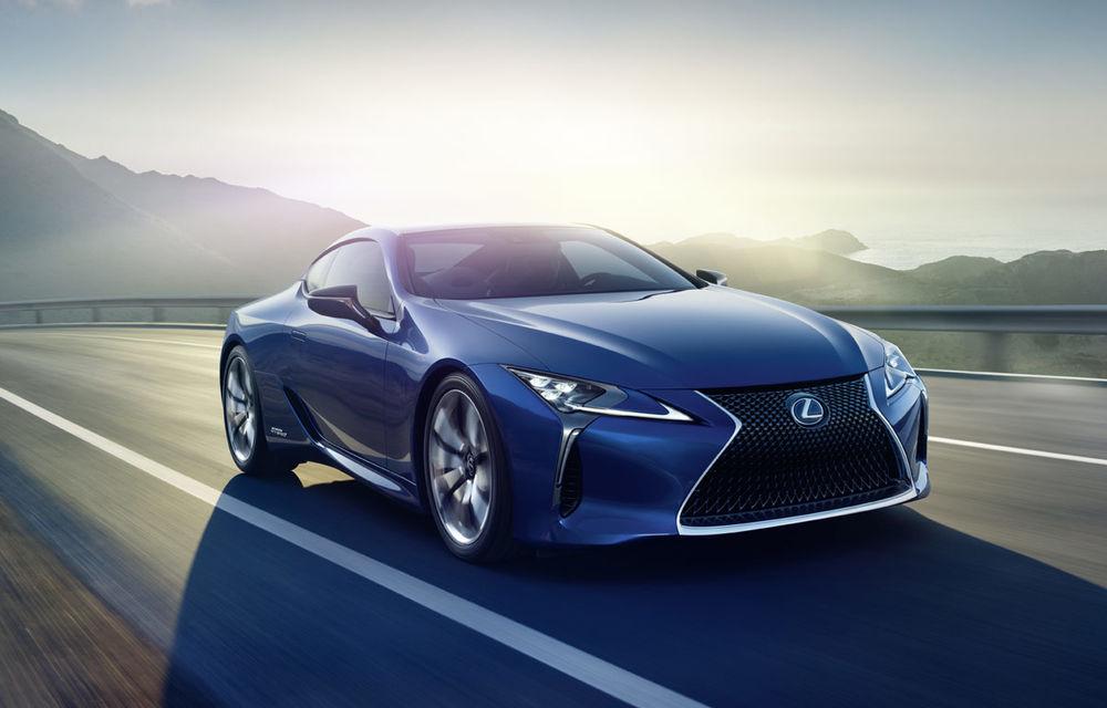 Lexus e pe val: a lansat LC500h, încă o mașină de serie care arată ca un concept - Poza 1