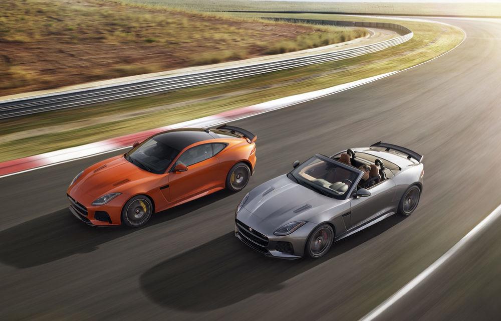 """Primele poze cu """"pisici"""" care îi vor sensibiliza și pe bărbați: Jaguar F-Type SVR Coupe și Cabrio au debutat oficial - Poza 1"""