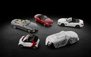 Mercedes ne ține în suspans: dezbracă foarte încet noul C-Klasse Cabrio