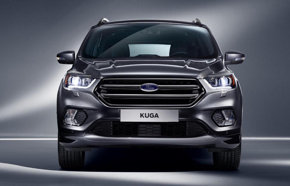 Ford Kuga facelift vine la pachet cu SYNC3, motoare noi și design inspirat de Ecosport - Poza 3