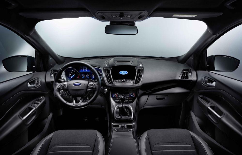 Ford Kuga facelift vine la pachet cu SYNC3, motoare noi și design inspirat de Ecosport - Poza 5
