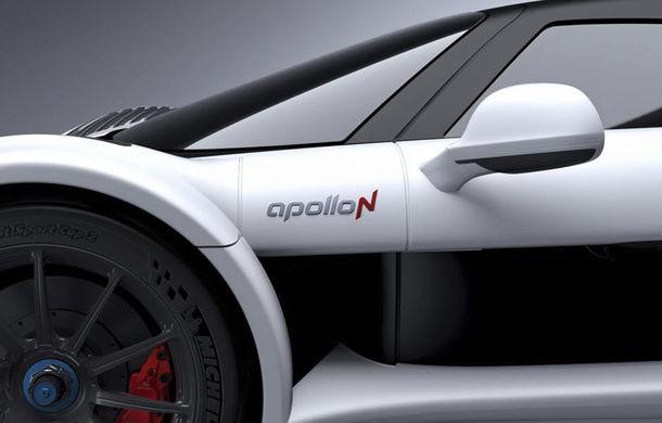 Cea mai rapidă mașină de serie din lume bate la ușă: ApolloN, anunțat de un teaser - Poza 1