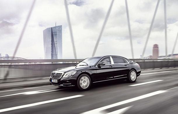 Mercedes a creat cea mai sigură limuzină blindată din lume: Maybach S600 Guard - Poza 1