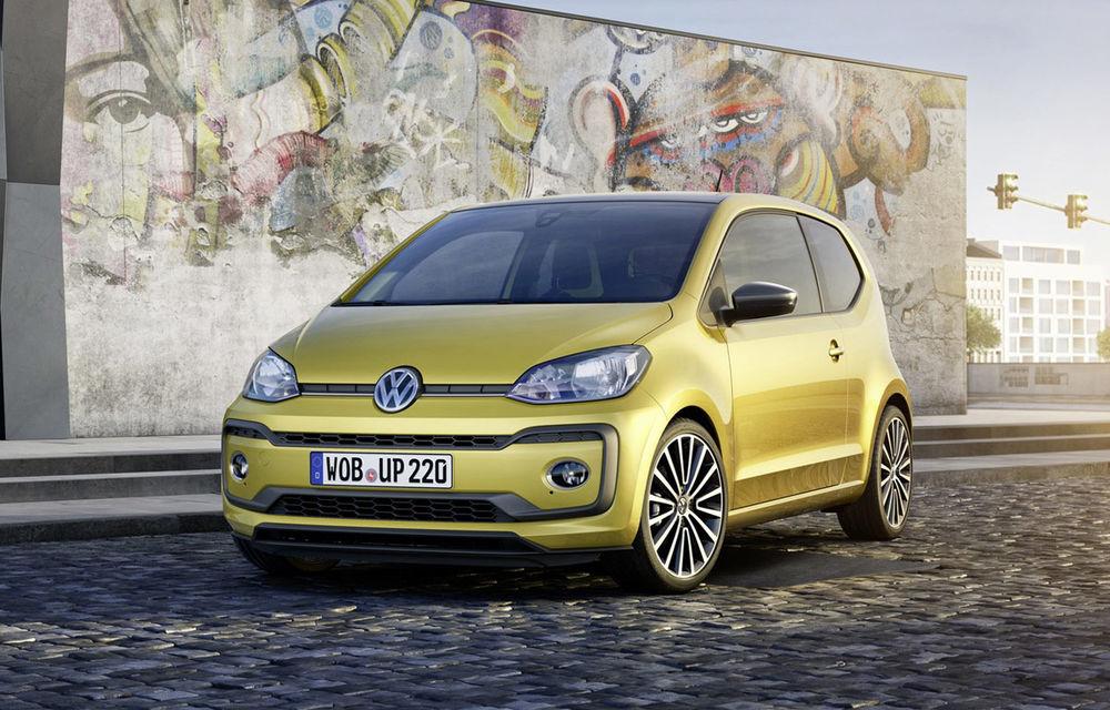 În așteptarea unui nou Golf, ne mulțumim și cu un Volkswagen Up facelift: motor nou, culori vii și tehnologie - Poza 1