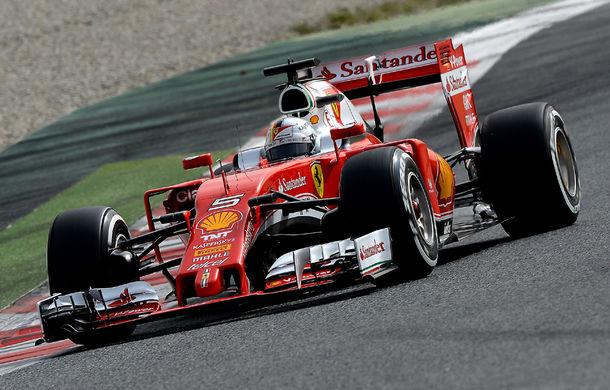 Teste Barcelona, ziua 1: Vettel, cel mai rapid. Hamilton, număr impresionant de tururi - Poza 1