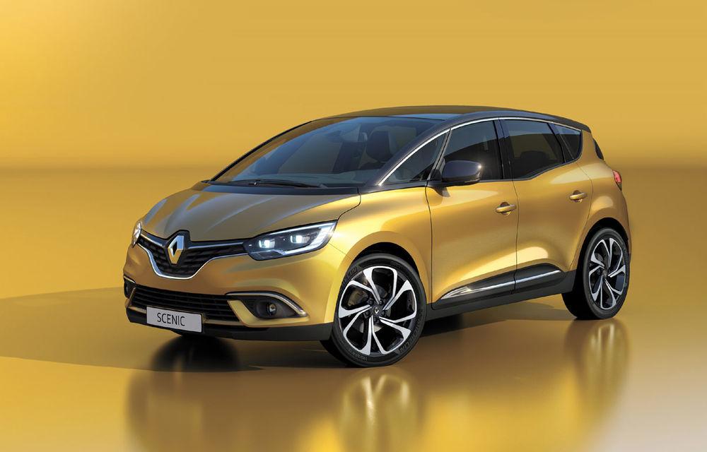 UPDATE FOTO: Imagini și informații oficiale cu noul Renault Scenic - Poza 3