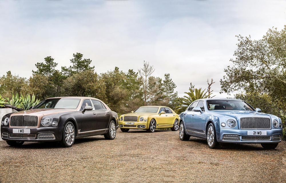 Chiar și regii au nevoie de o coroană nouă: Bentley Mulsanne primește un facelift și o versiune mai lungă, care măsoară 5.8 metri - Poza 1