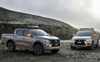"""Mitsubishi se joacă de-a """"escapada în off-road"""" cu două modele speciale: L200 și ASX Geoseek"""