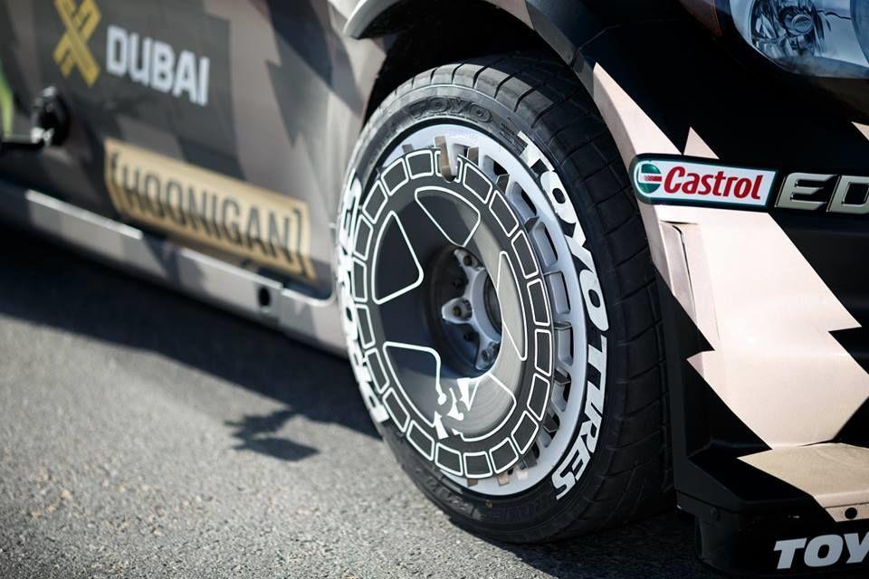 Gymkhana 8 s-a copt la soare în Dubai și va debuta alături de Ford Fiesta ST și flota de supercaruri a poliției saudite - Poza 3