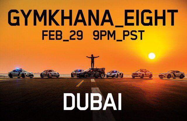Gymkhana 8 s-a copt la soare în Dubai și va debuta alături de Ford Fiesta ST și flota de supercaruri a poliției saudite - Poza 4