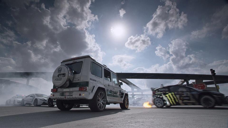 Gymkhana 8 s-a copt la soare în Dubai și va debuta alături de Ford Fiesta ST și flota de supercaruri a poliției saudite - Poza 2