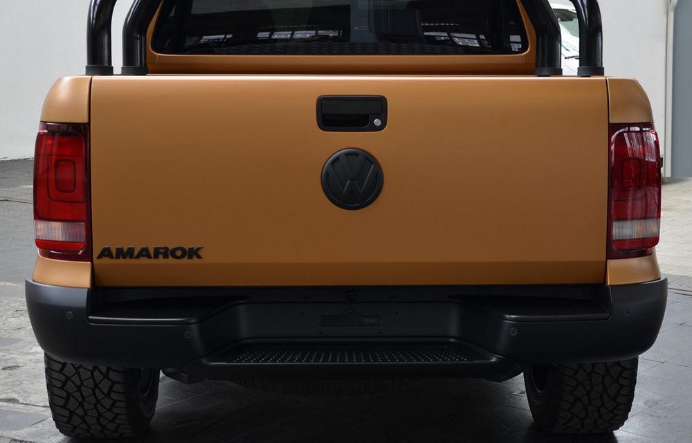 Limuzină sportivă cu benă: primul VW Amarok V8 TDI costă 200.000 de euro - Poza 3