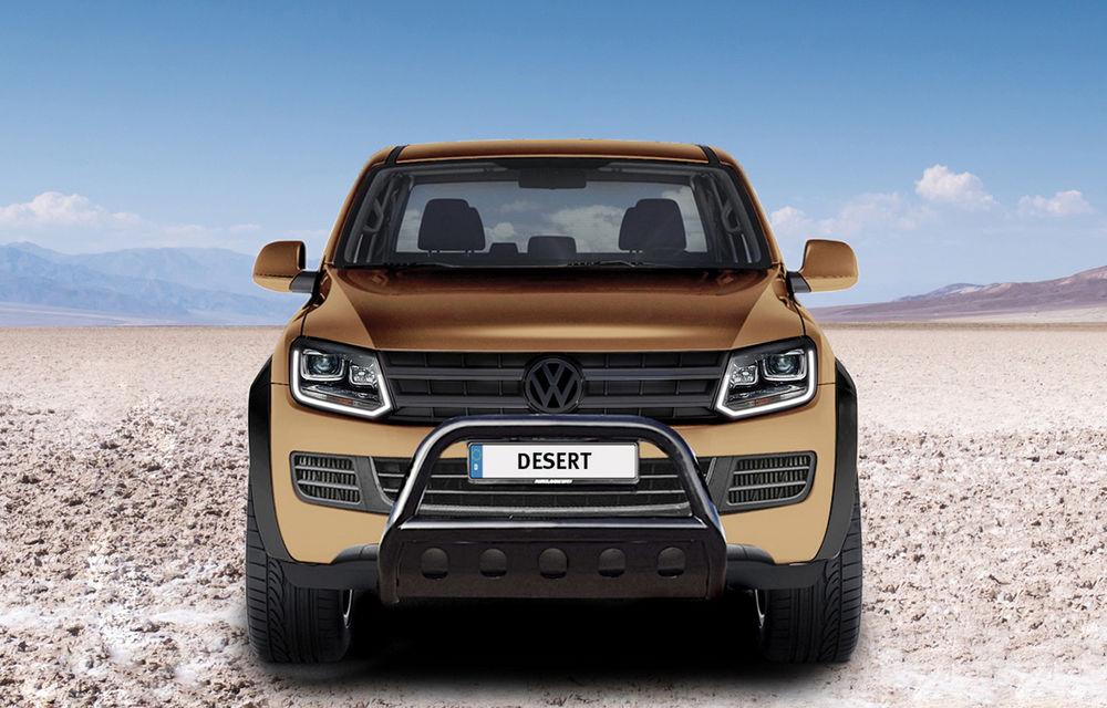 Limuzină sportivă cu benă: primul VW Amarok V8 TDI costă 200.000 de euro - Poza 2