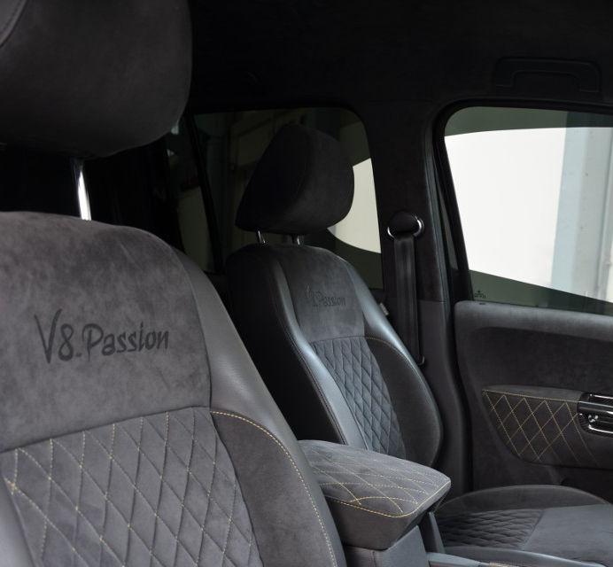 Limuzină sportivă cu benă: primul VW Amarok V8 TDI costă 200.000 de euro - Poza 6