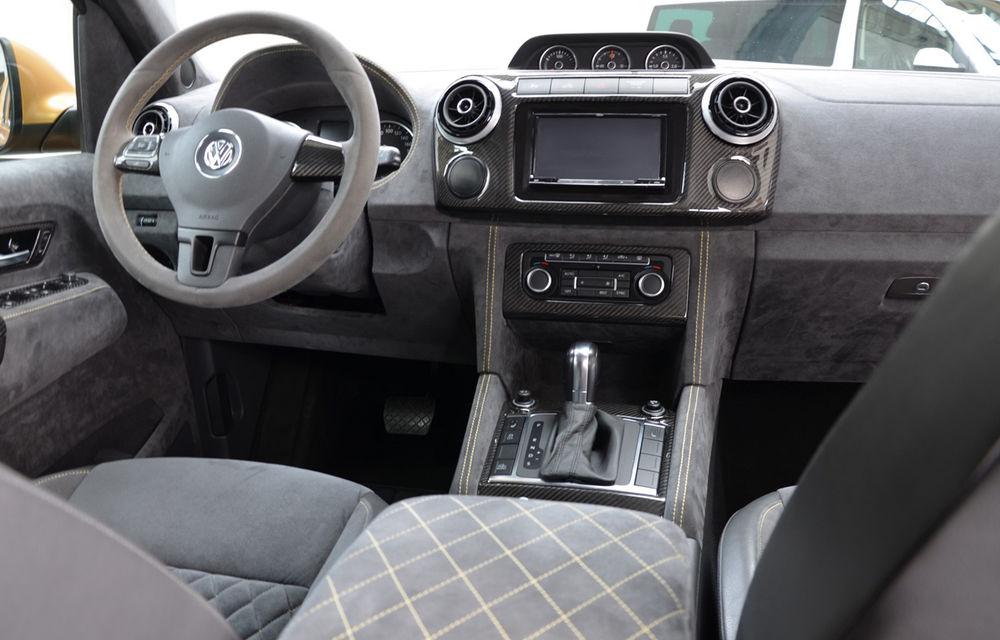 Limuzină sportivă cu benă: primul VW Amarok V8 TDI costă 200.000 de euro - Poza 7