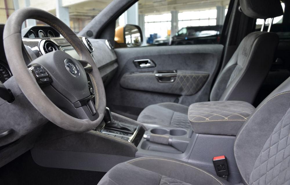Limuzină sportivă cu benă: primul VW Amarok V8 TDI costă 200.000 de euro - Poza 5