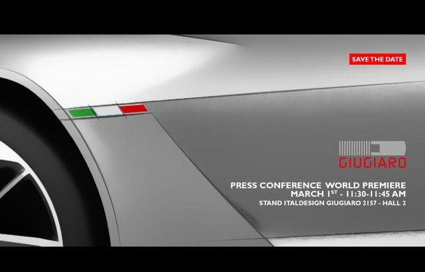 GT Zero va fi numele primului concept creat de Italdesign Giugiaro sub orânduire Volkswagen - Poza 2