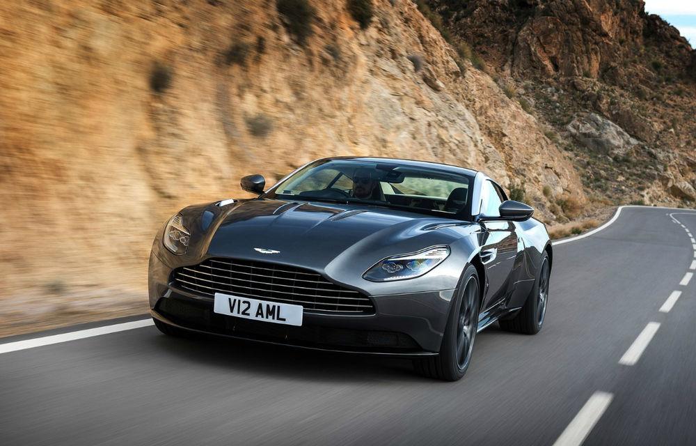 UPDATE FOTO, INFO: God Save the Queen! Noul Aston Martin DB11 readuce marca britanică în zona sportivelor senzuale - Poza 1