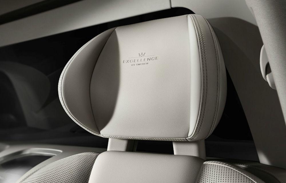 """Volvo forțează zona de lux prin noul XC90 Excellence: """"Este cea mai luxoasă mașină din istoria noastră"""" - Poza 11"""