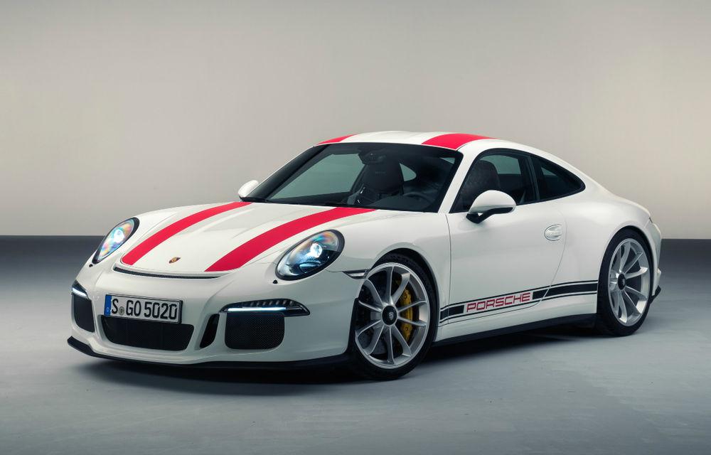 Reîntoarcere la origini: Porsche 911 R primește 500 de cai, o cutie manuală și performanțe de vârf - Poza 1