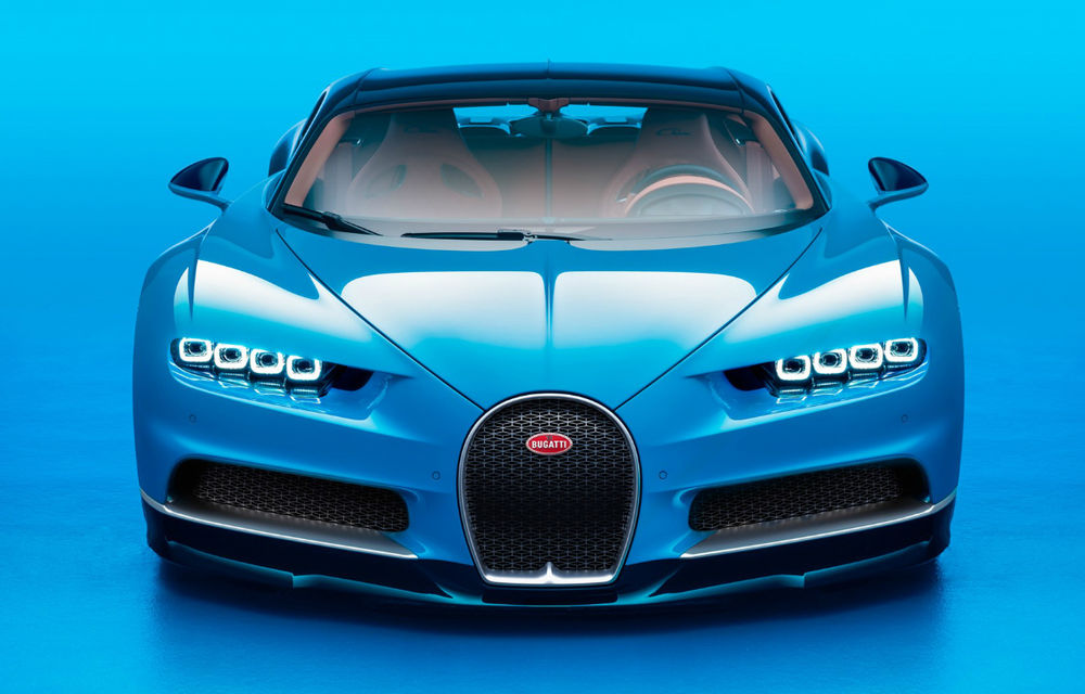 Zeul mașinilor sport e aici: noul Bugatti Chiron devine cea mai puternică mașină din istorie. 1500 CP, sub 2.5 secunde pentru 0-100 km/h - Poza 1