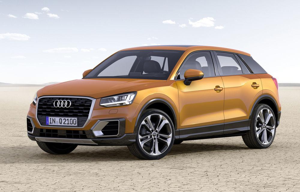 Audi Q2 devine cel mai mic SUV din gama mărcii germane: dedicat tinerilor din orașe - Poza 1