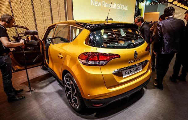 GENEVA 2016 LIVE. Noul Renault Scenic pășește agale pentru împrospătarea gamei franceze - Poza 3