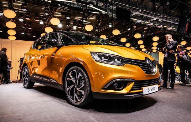 GENEVA 2016 LIVE. Noul Renault Scenic pășește agale pentru împrospătarea gamei franceze - Poza 1
