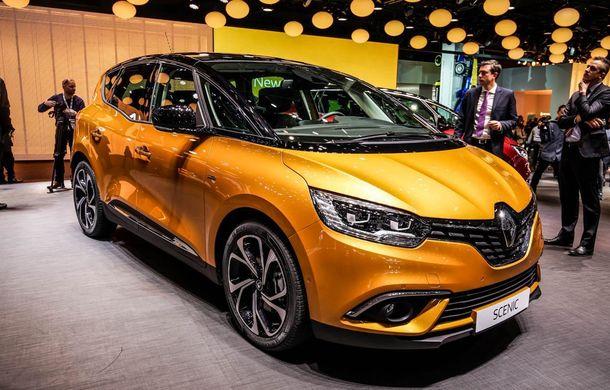 GENEVA 2016 LIVE. Noul Renault Scenic pășește agale pentru împrospătarea gamei franceze - Poza 2
