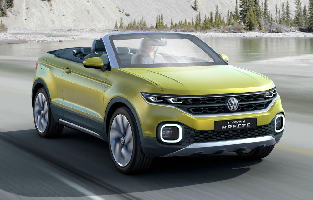 Mai bine mai târziu decât niciodată: Volkswagen pregătește un SUV urban, anunțat de conceptul T-Cross Breeze - Poza 1