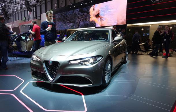GENEVA 2016 LIVE: Alfa Romeo Giulia este una din principalele atracții ale Salonului Auto de la Geneva - Poza 1
