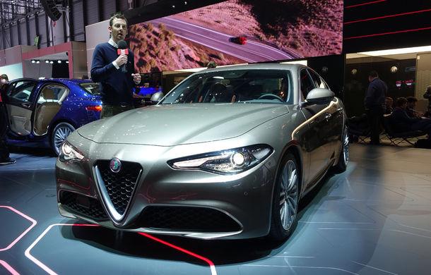 GENEVA 2016 LIVE: Alfa Romeo Giulia este una din principalele atracții ale Salonului Auto de la Geneva - Poza 2