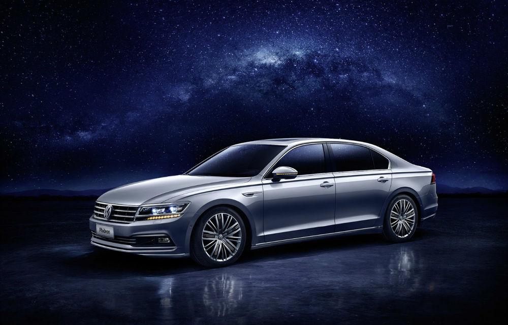 Volkswagen Phideon este fratele mai mare al lui Passat. Din păcate, știe doar limba chineză - Poza 1