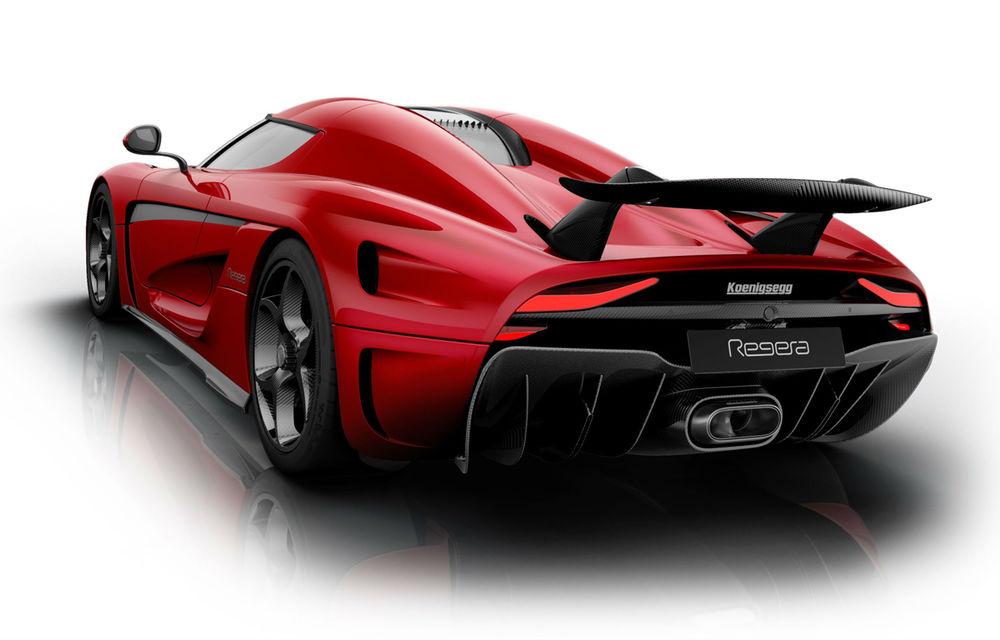 Bugatti who? Koenigsegg Regera anunță 1520 CP și un preț de 3 milioane de euro per exemplar - Poza 4
