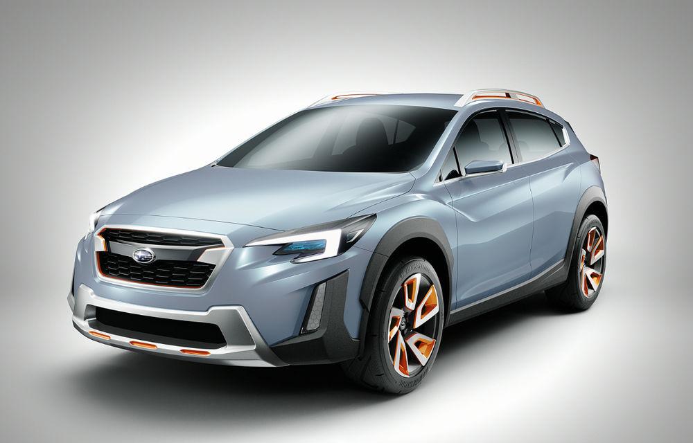 Între premium și accesibile: Subaru XV Concept anunță un nou SUV compact - Poza 1