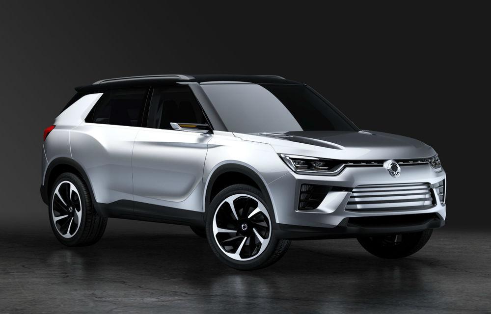 Amenință Ssangyong segmentul SUV compact? Conceptul SIV-2 anunță înlocuitorul lui Korando - Poza 1