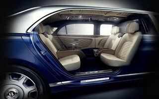 Bine ați venit în cel mai scump Bentley! Acesta este noul Mulsanne Grand Limousine